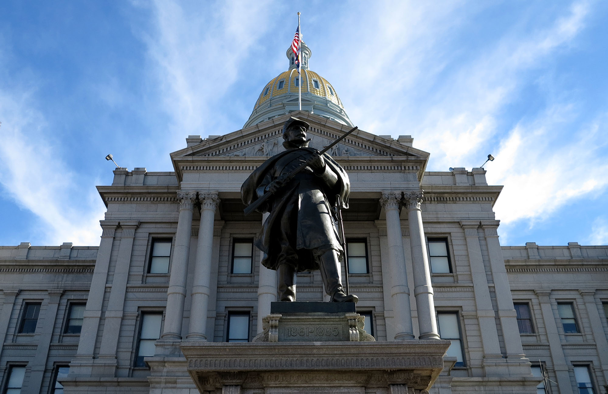 <p>The Colorado Capitol.</p>