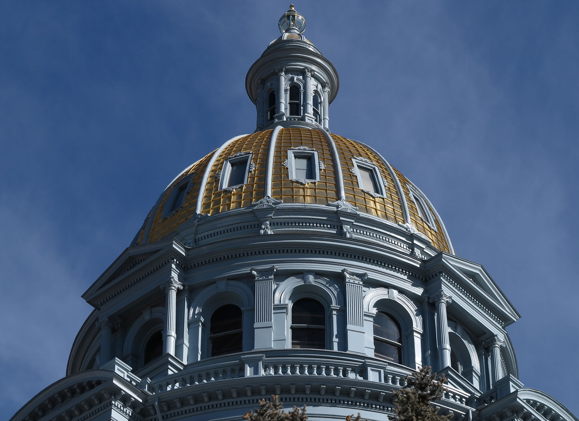 <p>The gold dome on the Capitol in Denver.</p>