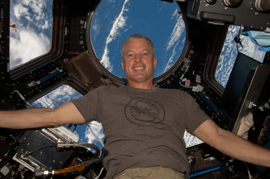 <p>Steven Swanson calls Steamboat Springs, Colo. home but the NASA astronaut is aboard the International Space Station as part of a six-member crew.</p>