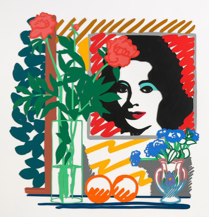 """<p>Tom Wesselmann's """"Still Life With Liz,""""1992. Lent by Claire Wesselmann.<span style=""""color: rgb(34, 34, 34); font-family: 'Arial Narrow', sans-serif; font-size: 12px; line-height: normal;""""></span>©Estate of Tom Wesselmann/Licensed by VAGA, New York, NY</p>"""