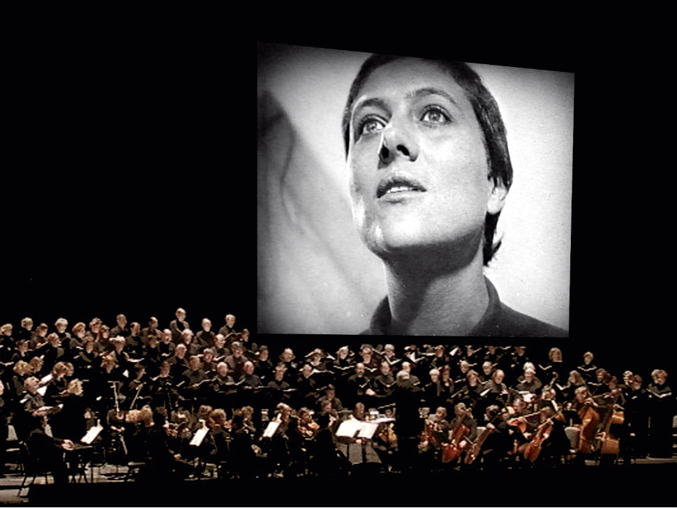 "<p>A performance of ""Voices of Light"" by composer Richard Einhorn, written to accompany the 1928 silent film ""The Passion of Joan of Arc.""</p>"