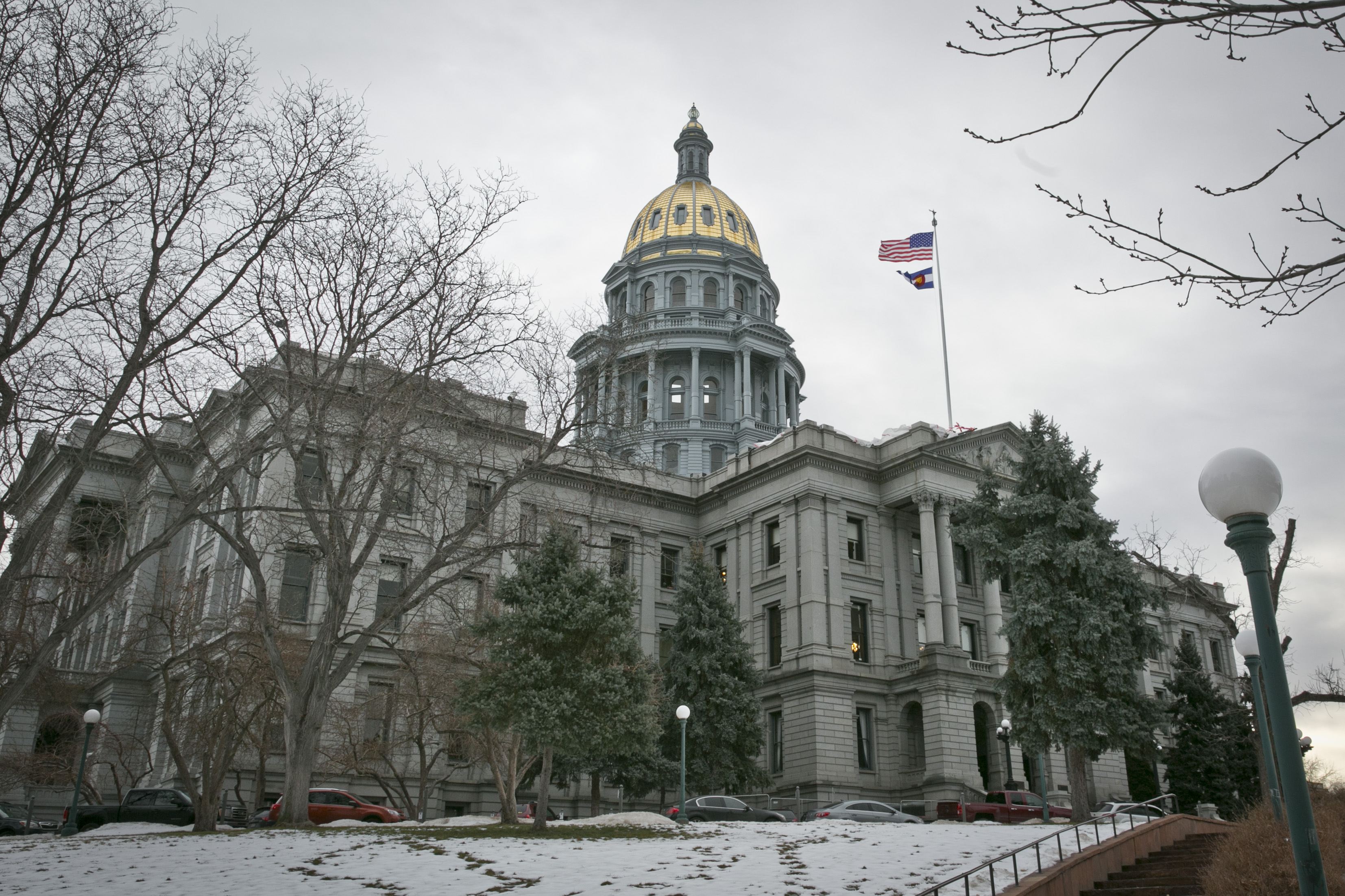 The Colorado state Capitol building on Monday, Jan. 9, 2017.
