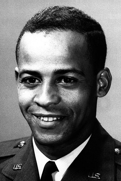 Ed Dwight Jr. in his days as a U.S. Air Force captain.
