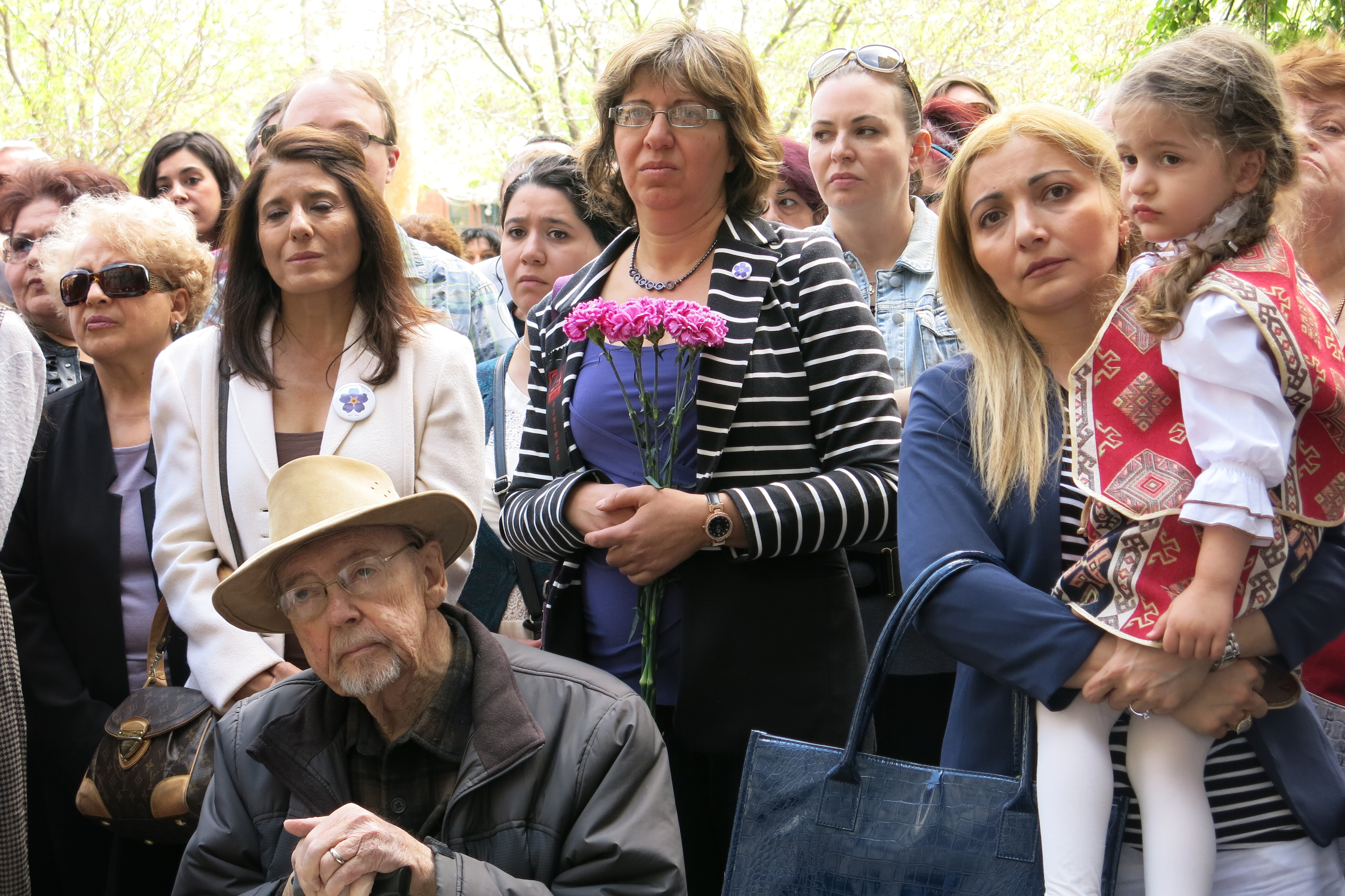 <p>Colorado's Armenian community came to the capitolFriday to remember the 1915 genocide.</p>