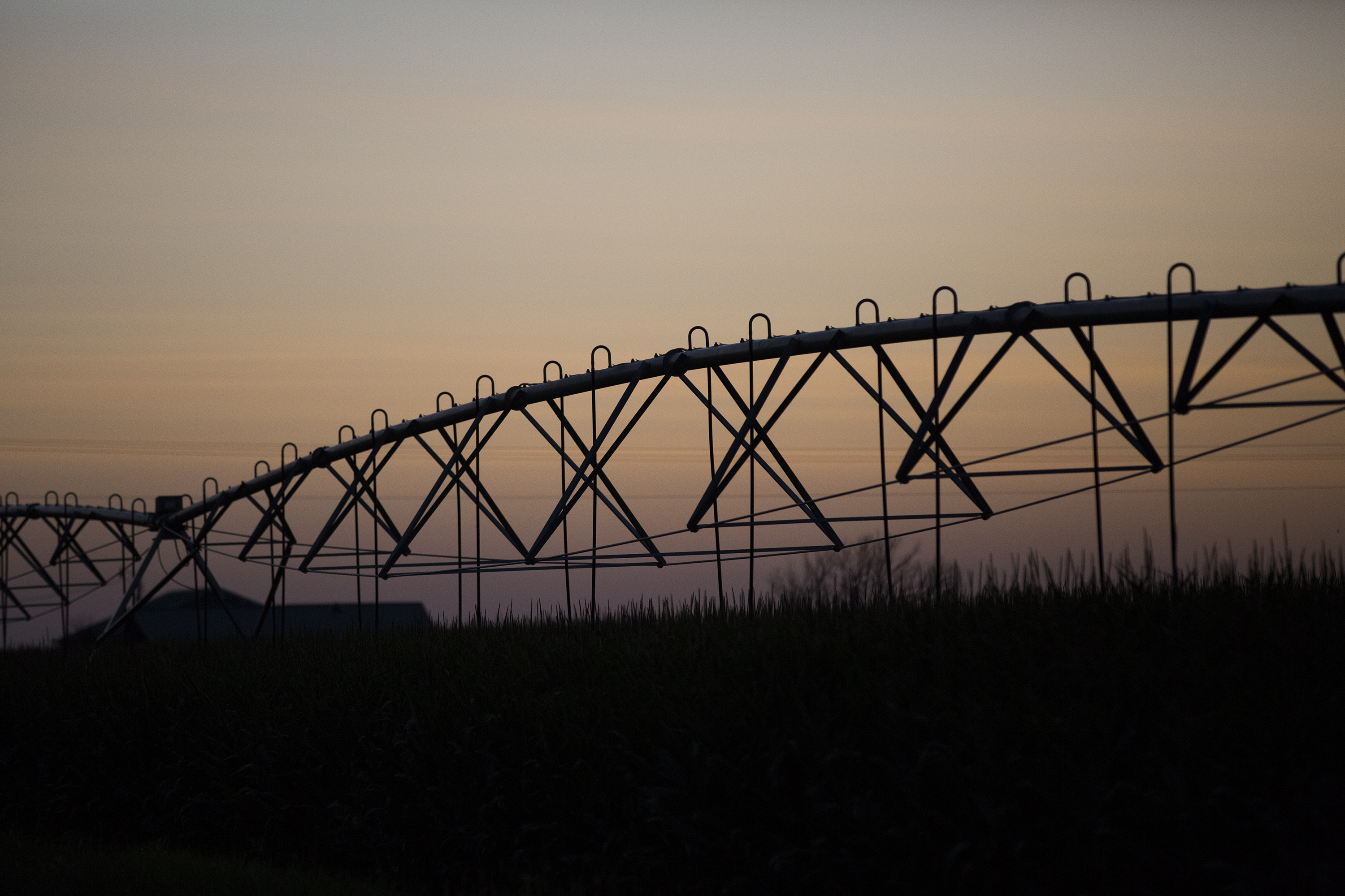 "A center pivot irrigation system above corn fields north of Julesburg. There are more than 335,000 acres being farmed in Sedgwick County, spread among more than 220 farms. The market value of farming and livestock products together was <a href=""https://www.agcensus.usda.gov/Publications/2012/Full_Report/Volume_1,_Chapter_2_County_Level/Colorado/st08_2_001_001.pdf"">worth more than $100,000,000</a> in 2012, the last year for which data was available. The county is named after Civil War Gen. John Sedgwick."