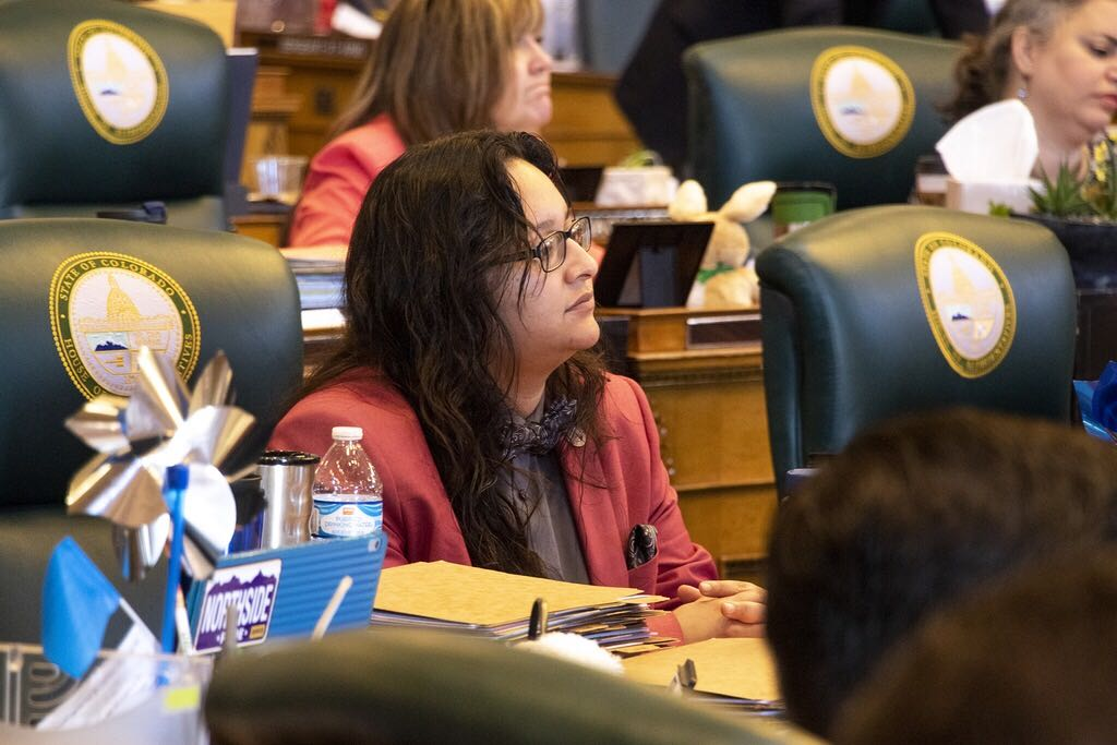 <p>Democratic state Rep. Rochelle Galindoof Greeley represents House District 50.</p>