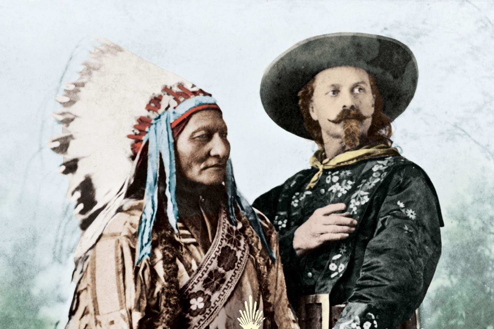 The Strange Friendship Of Wild West Icons Sitting Bull And
