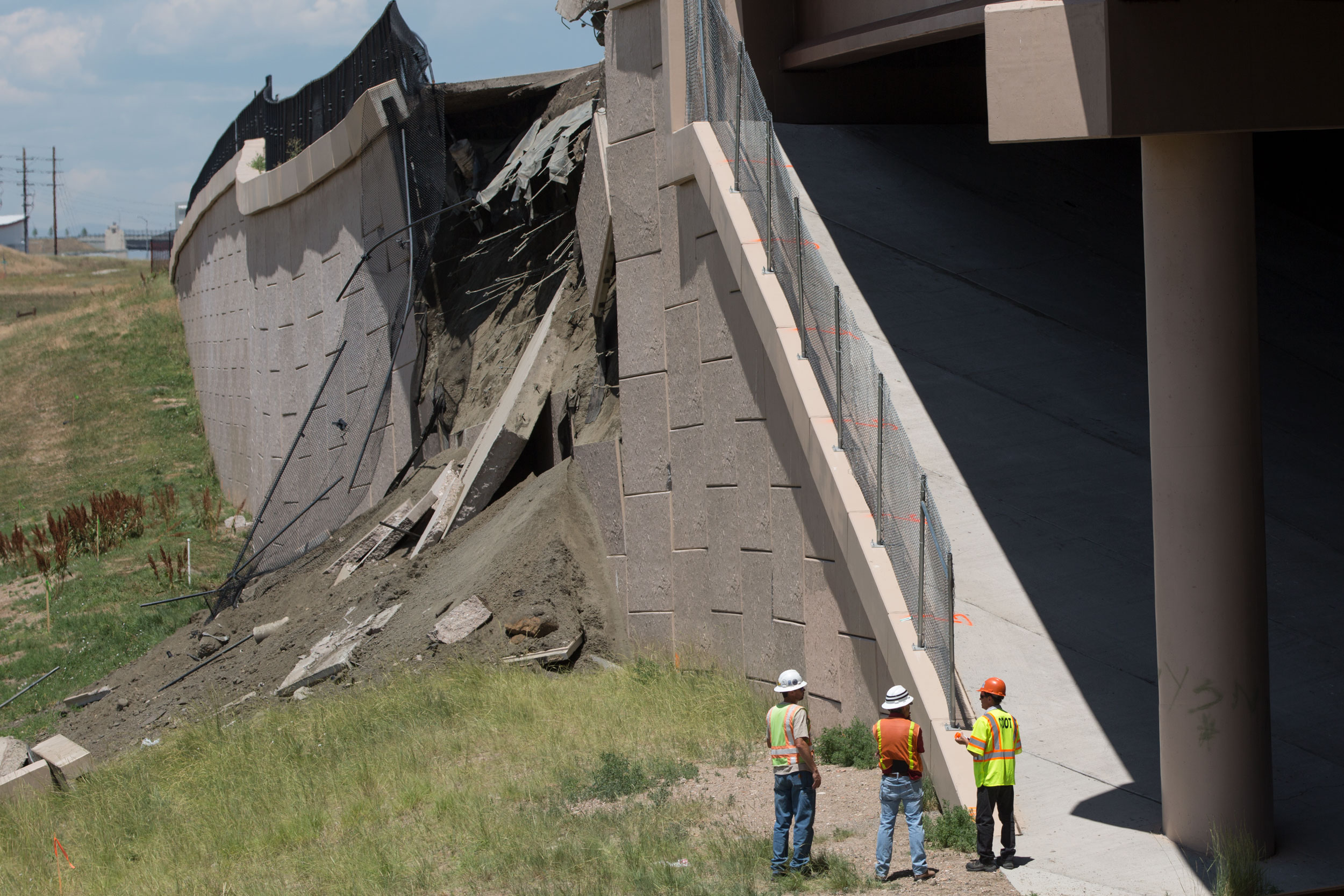 Hwy 36 Embankment Failure HV