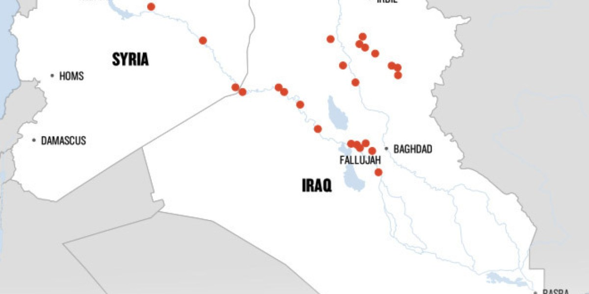 In One Map, The Dramatic Rise Of ISIS In Iraq And Syria ...