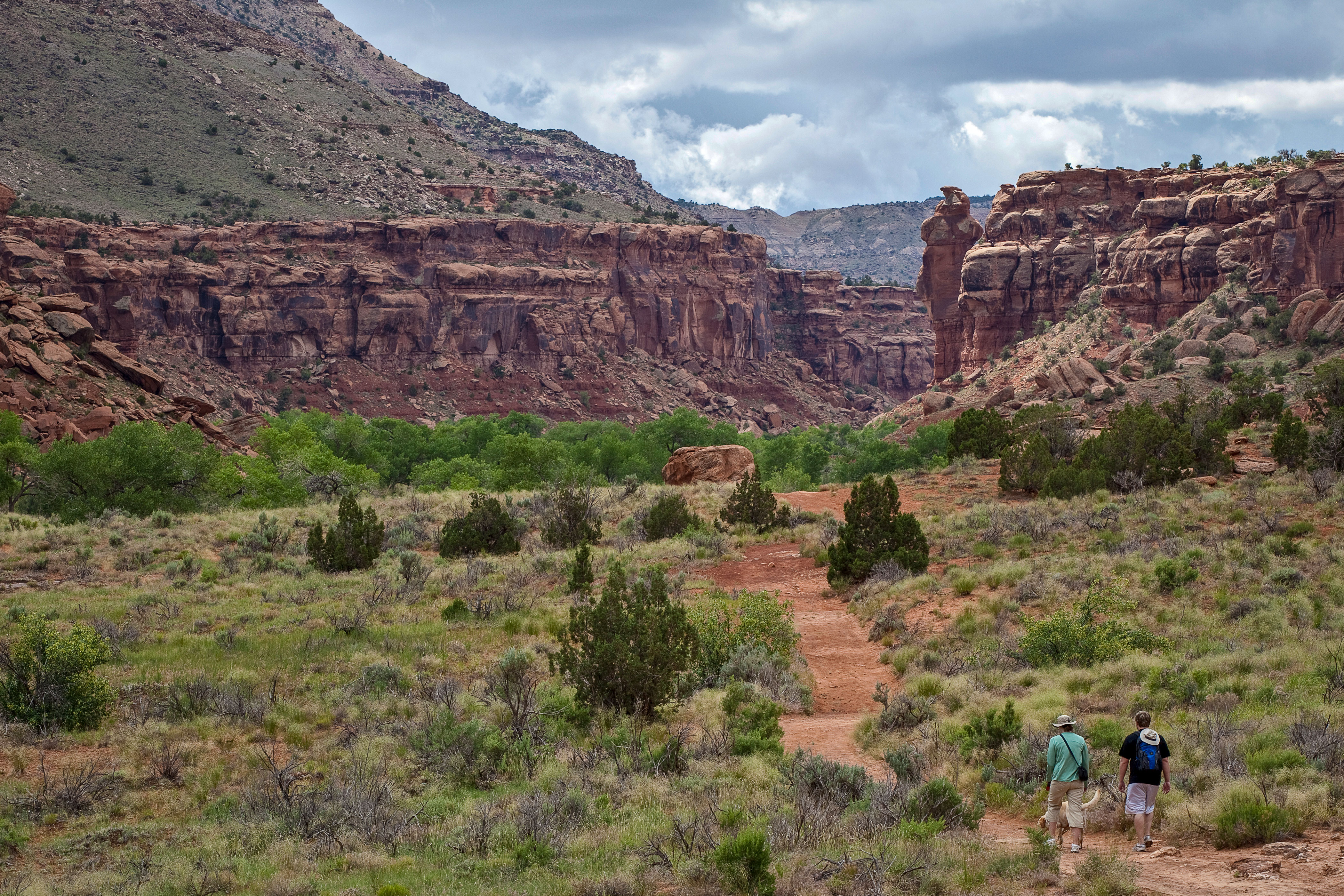 The Dominguez-Escalante National Conservation Area south of Grand Junction, Colo.