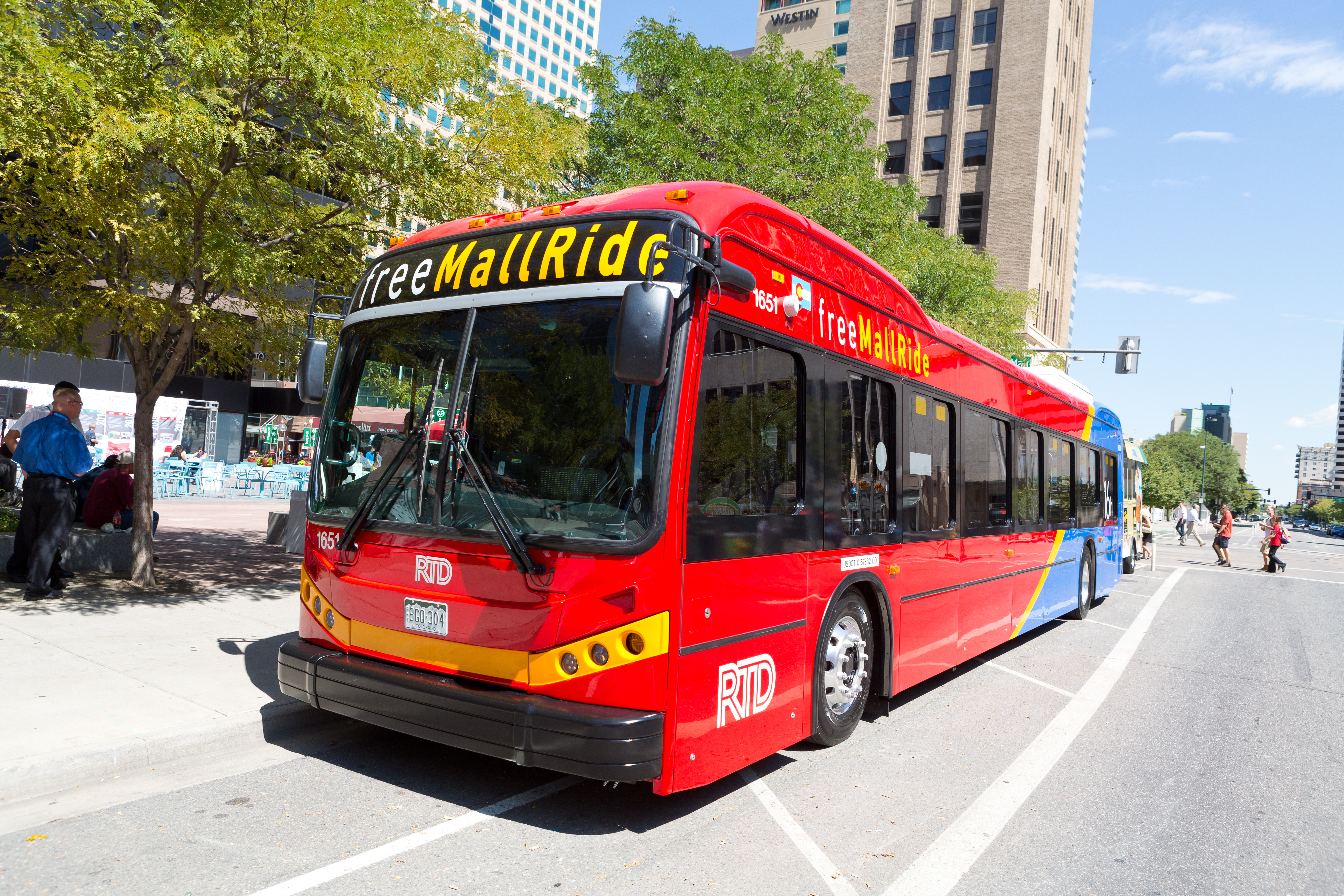 RTD has dozens of electric buses operating on the 16th Street Mall.