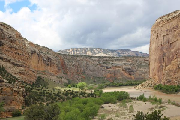 The confluence of the Green River and the Yampa in northwestern Colorado was on Powell's route. Powell named the spot Echo Park after his crew members shouted at the surrounding cliffs.