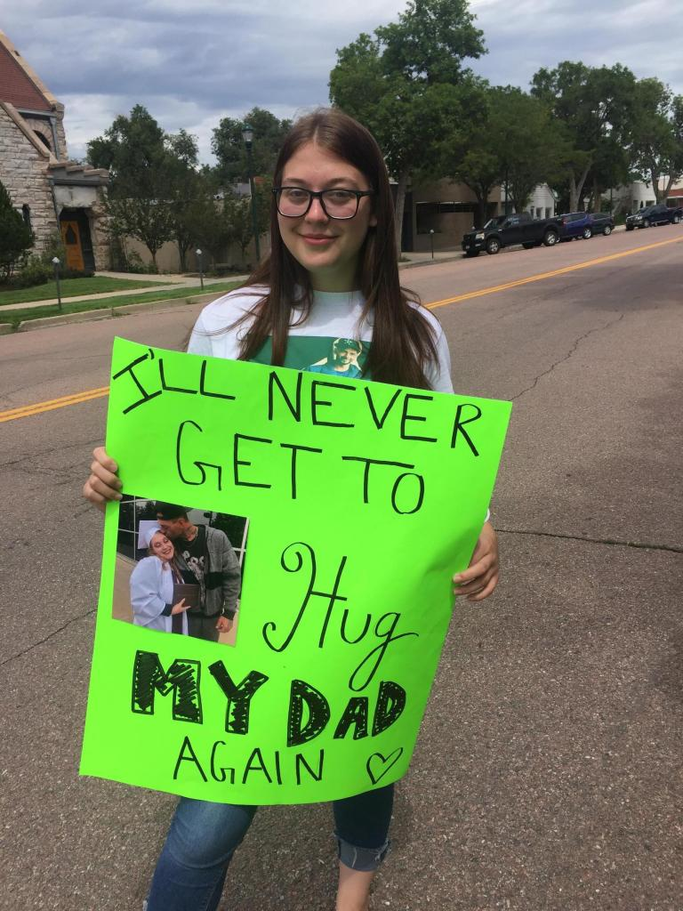 Angelyna Reed, daughter of Josh Vigil.