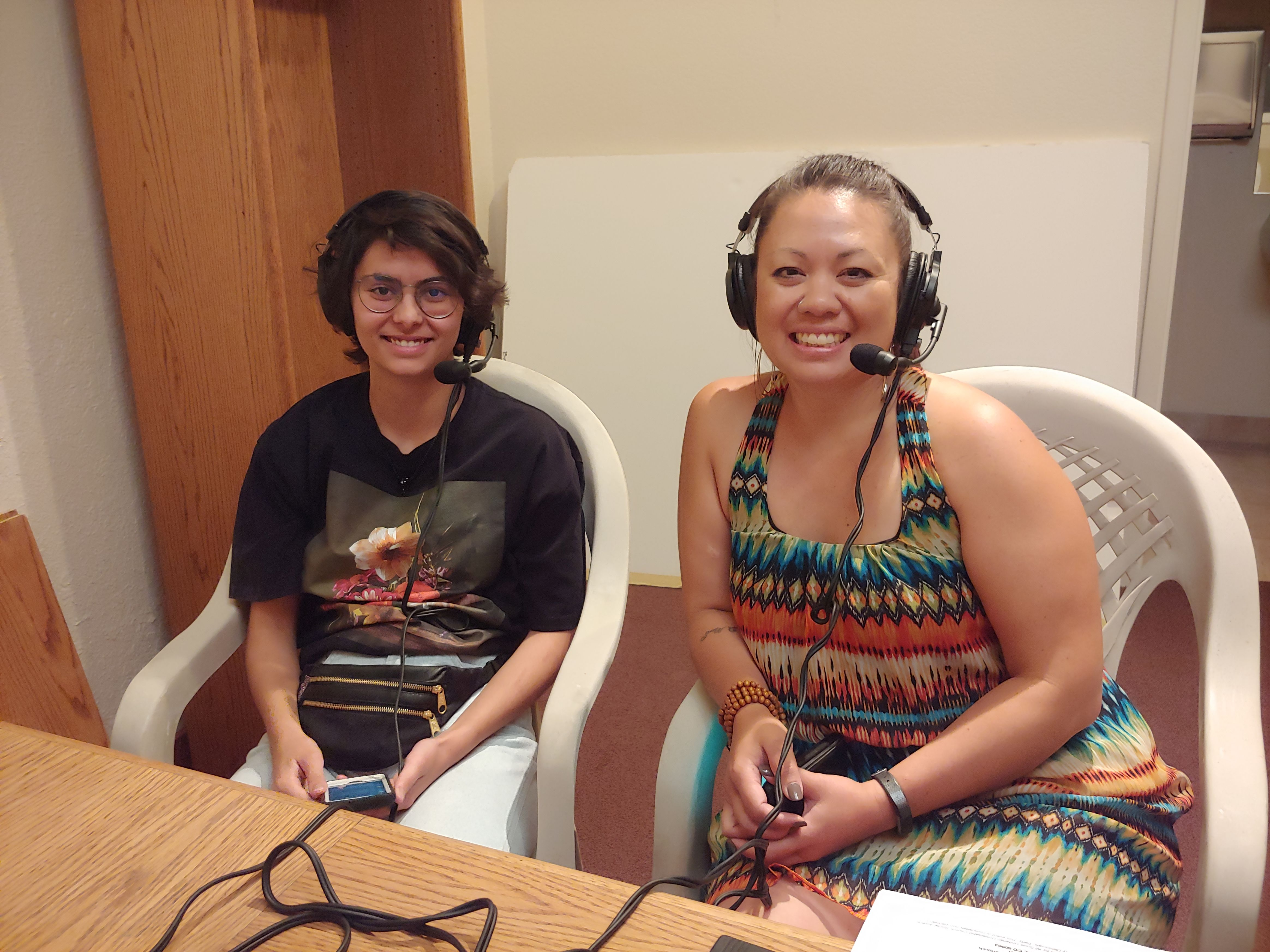 "18-year-old Sorin Santos of Manitou Springs made the documentary, ""Surviving,"" about his struggles with depression. He is joined by Cassandra Walton of Pikes Peak Suicide Prevention."