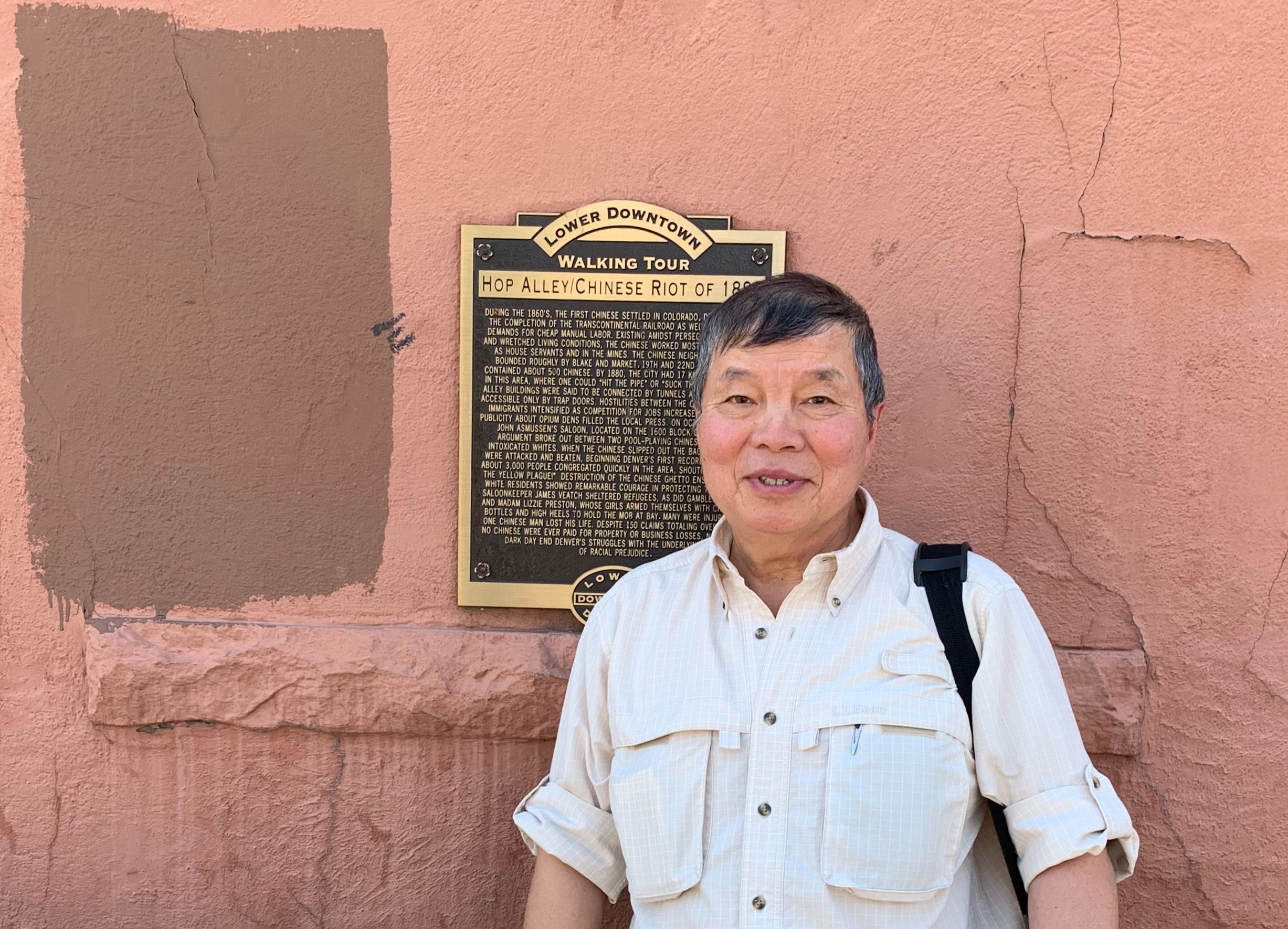 William Wei began his year as Colorado's state historian on August 1, 2019, which is also the state's birthday.