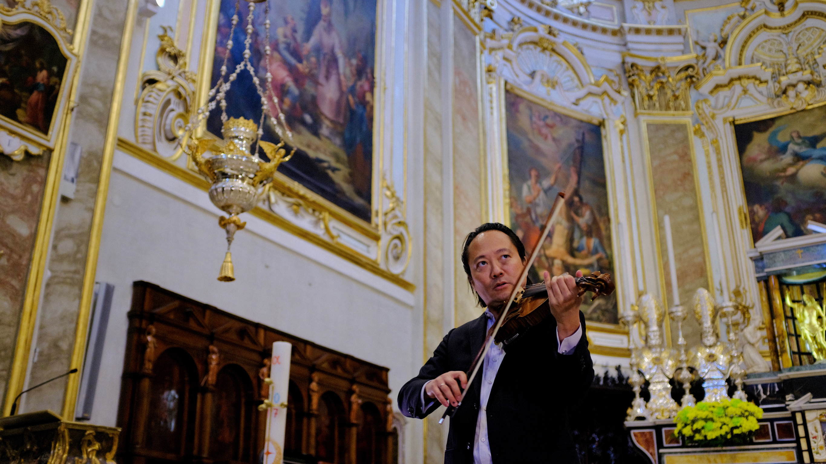 """Scott Yoo is the host of PBS series, """"Now Hear This"""" and also the conductor of the Colorado College Summer Music Festival."""