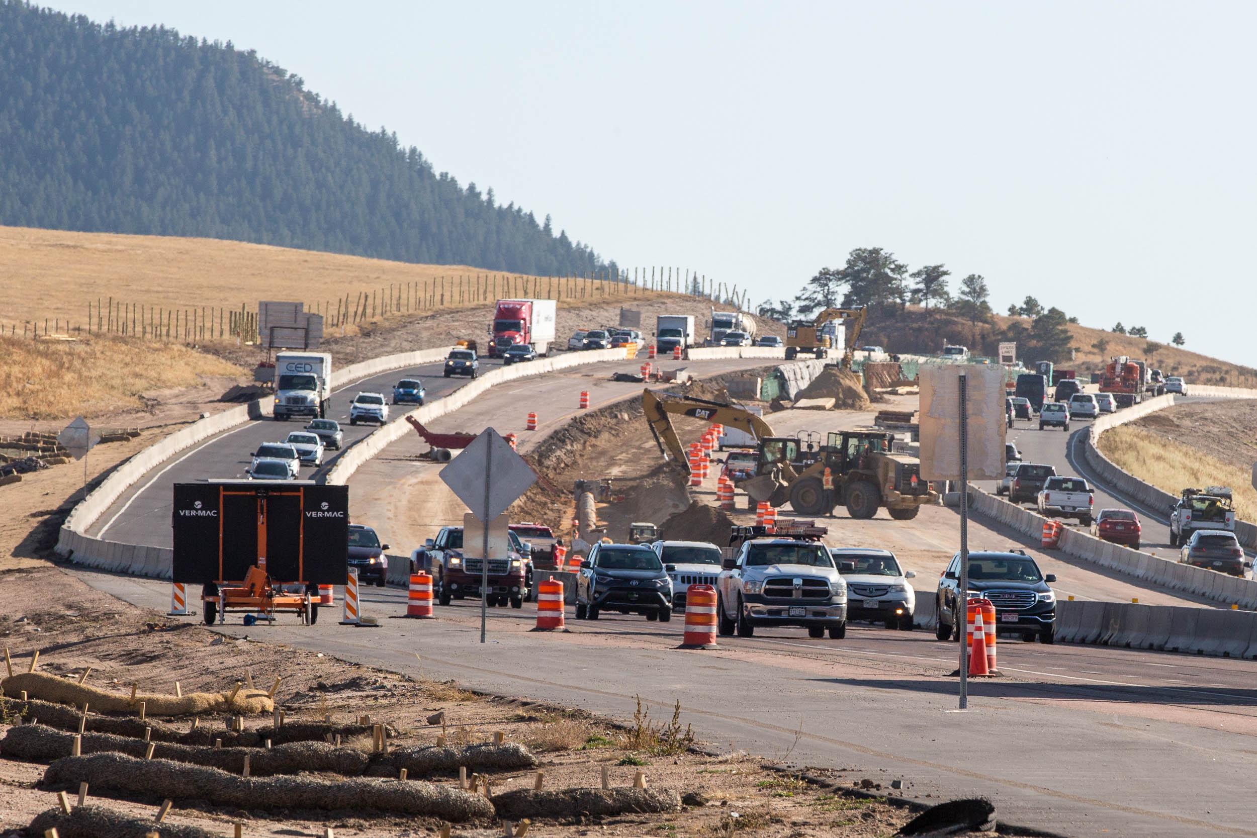 I-25 CONSTRUCTION PALMER DIVIDE