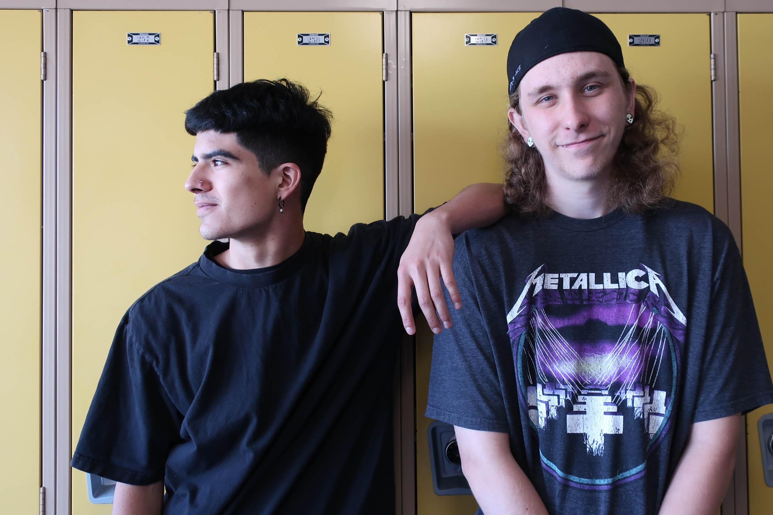 Teens Jose Garza Shawn Mashall