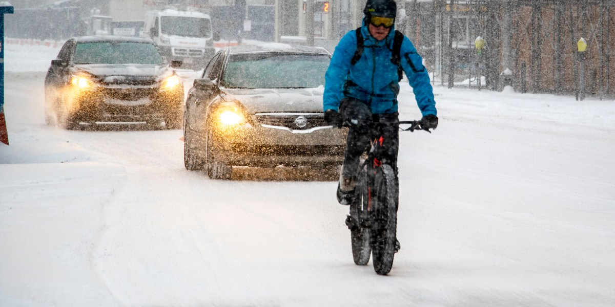 Yes, You Can Still Ride Your Bike In Snow. Here's How To Best Cycle When It's Cold Outside