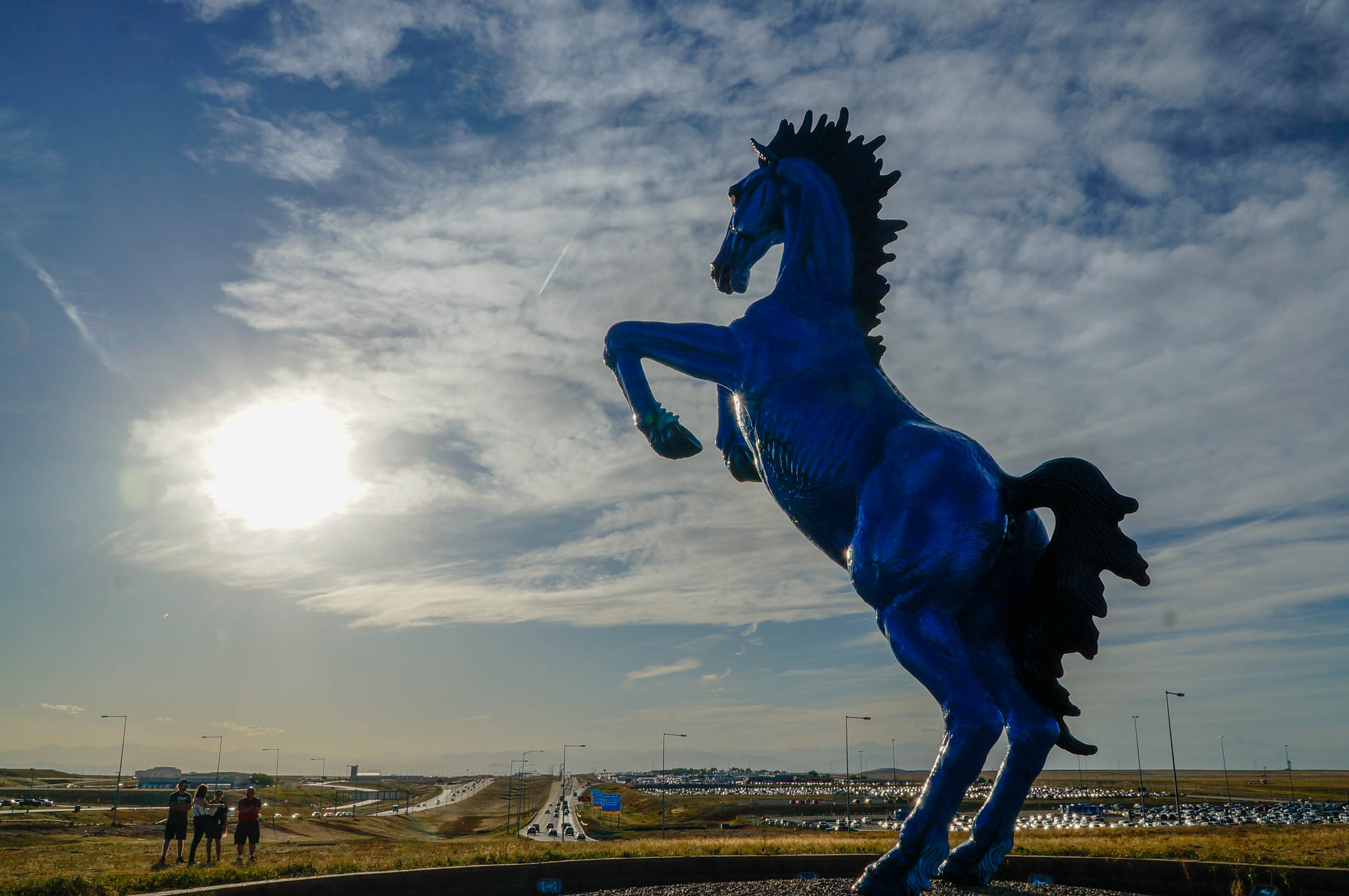 Everything You Ever Wanted To Know About Blucifer, The Demon Horse Of DIA