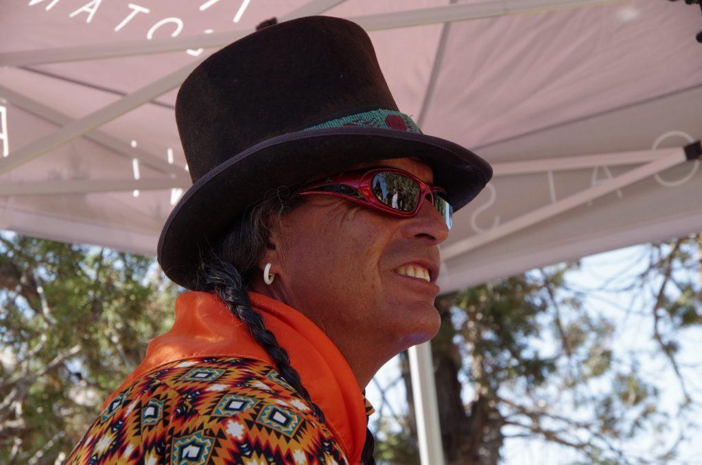 Sam Maez is a Southern Ute tribal member