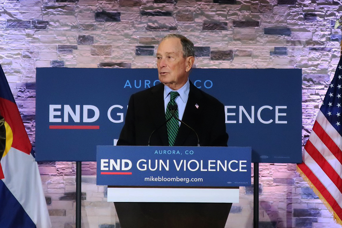 Democratic presidential candidate Michael Bloomberg visits Aurora on Thursday, Dec. 5, to talk about his anti-gun violence policy.