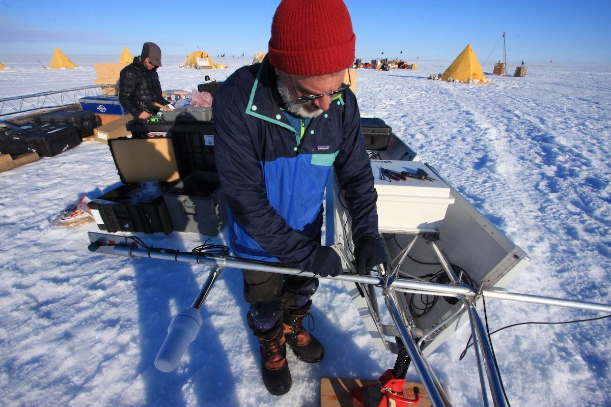 Antarctica Ted Scambos Colorado Scientist CU Boulder Climate Change Research