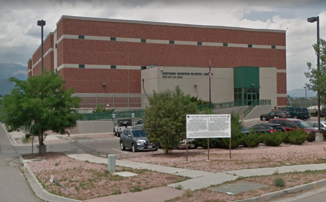 The Cheyenne Mountain Re-entry Center in Colorado Springs