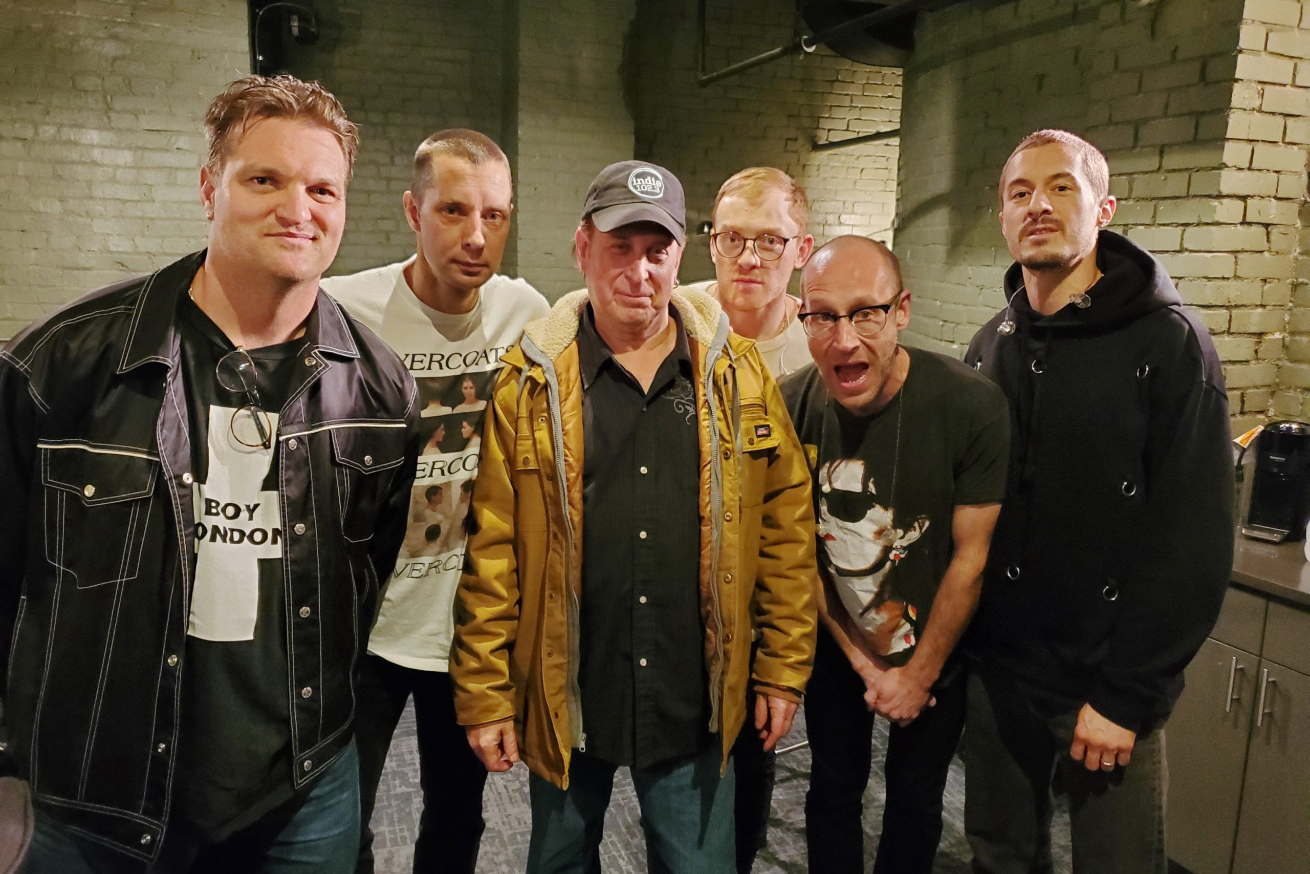 Cold War Kids Backstage at Ogden Theater with Indie 102.3 Program Director Willobee Carlan