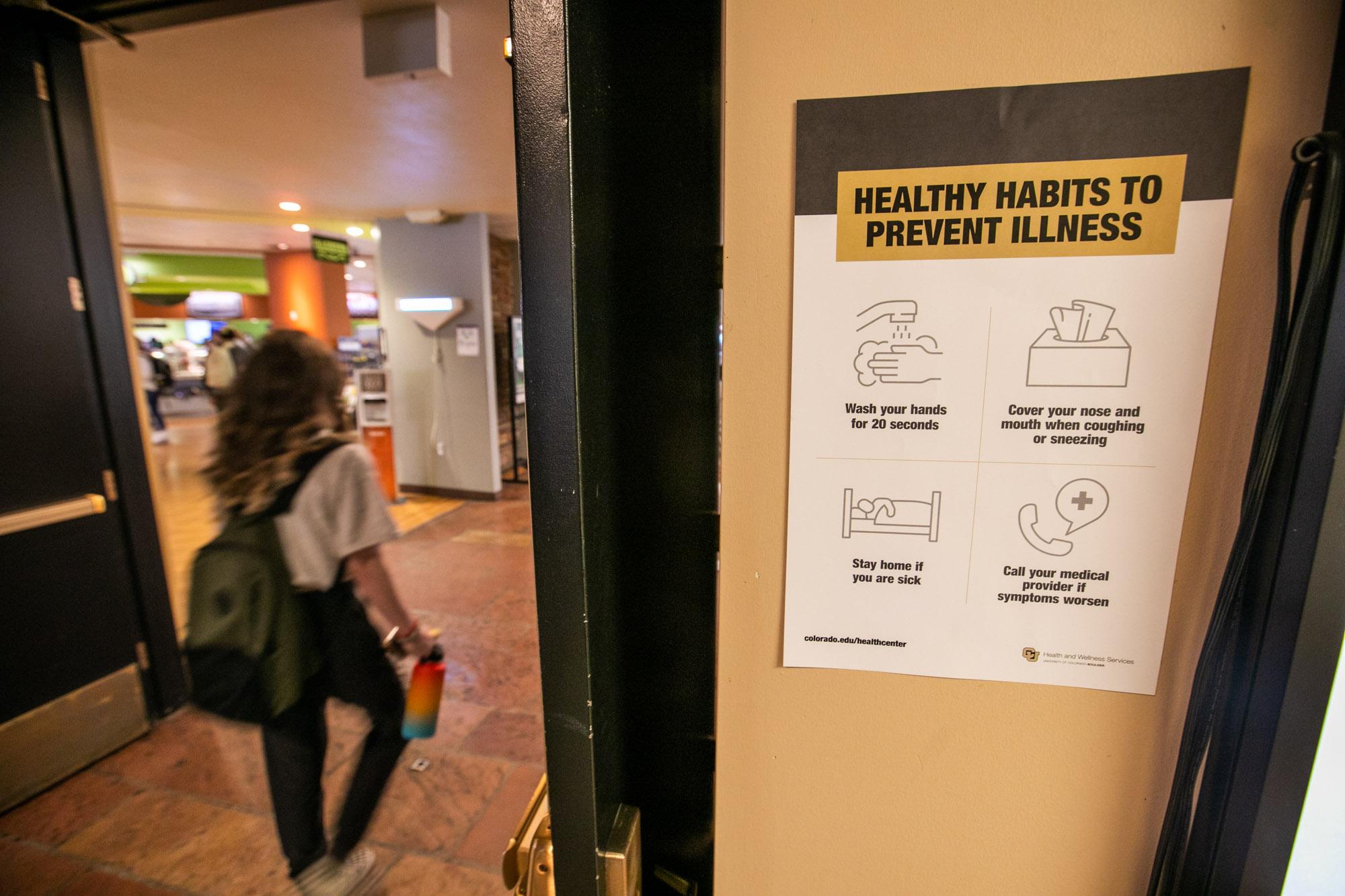 Coronavirus CU Boulder Cancels In-Person Classes