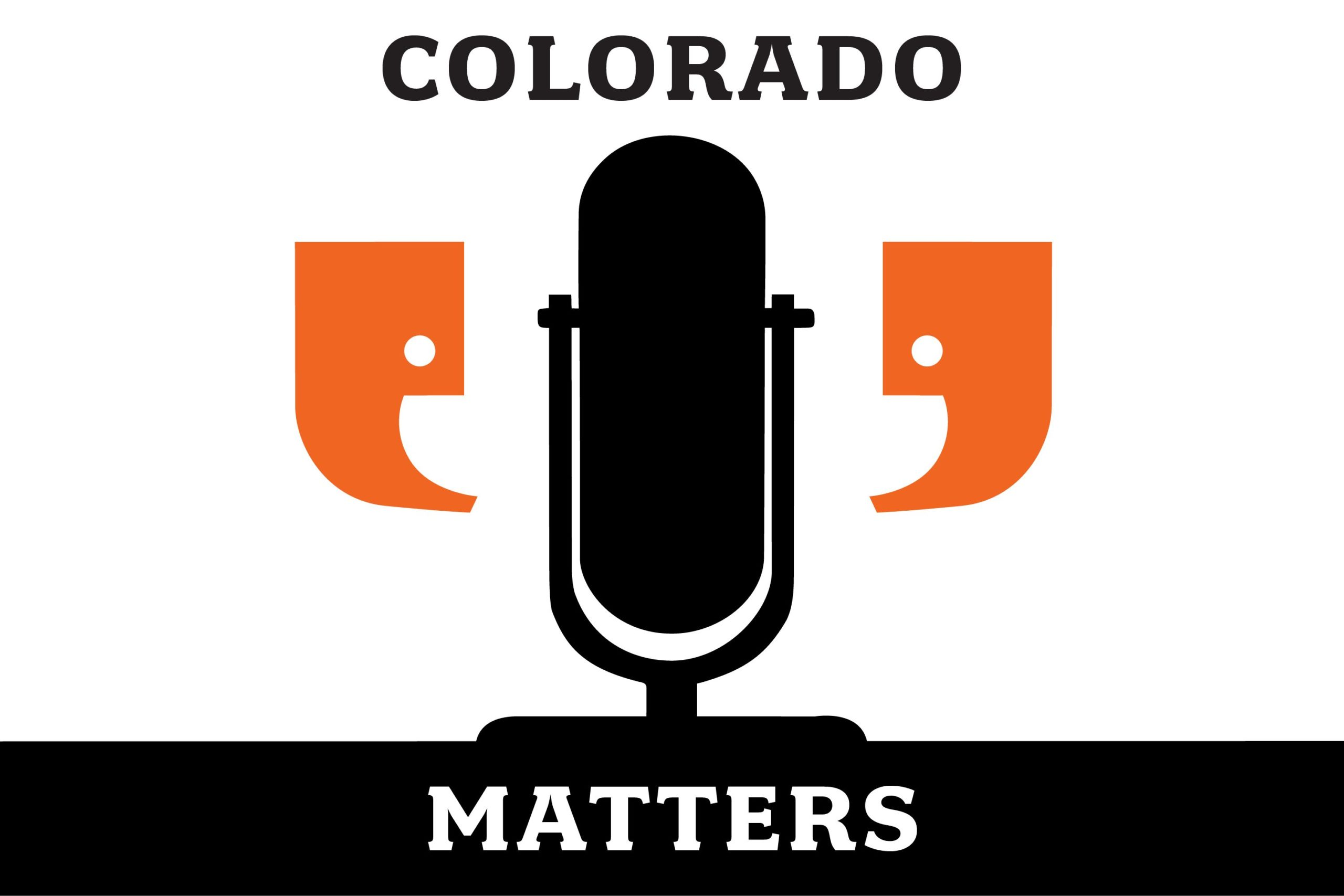 Colorado Matters CMS Safe 3X2 Logo for Podcast Segments