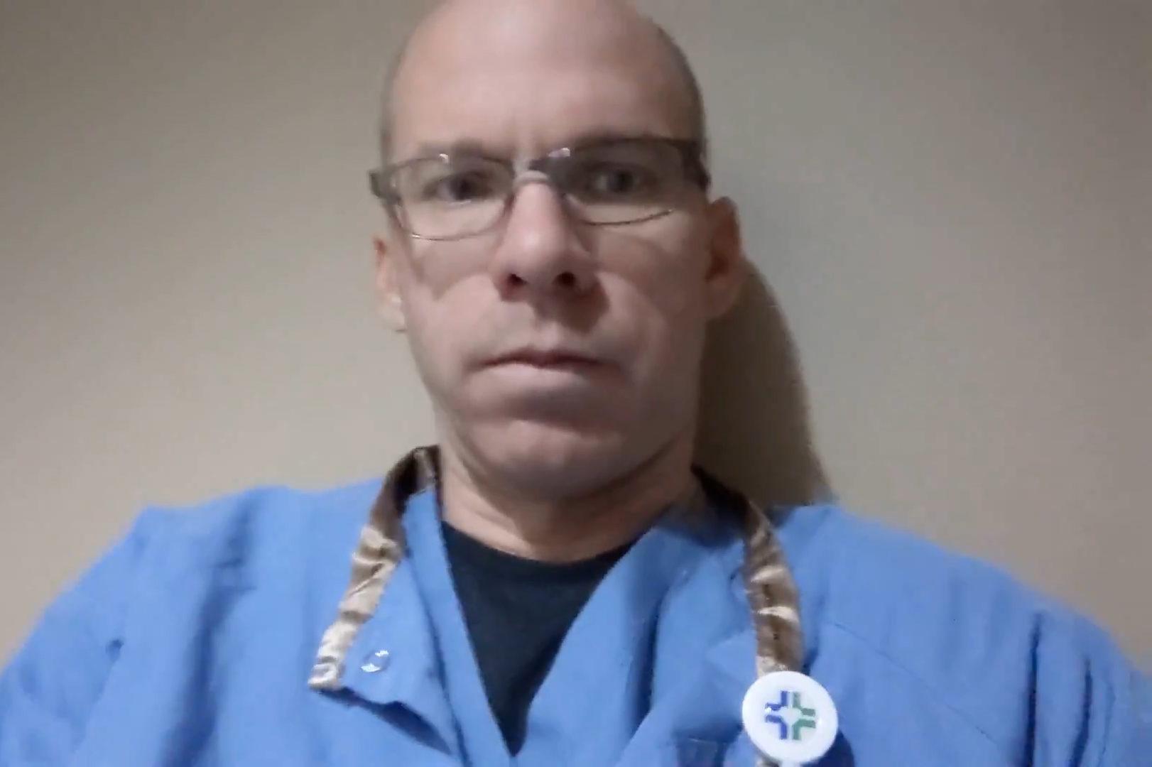Dr. Peter Stubenrauch, Critical Care Pulmonologist, National Jewish