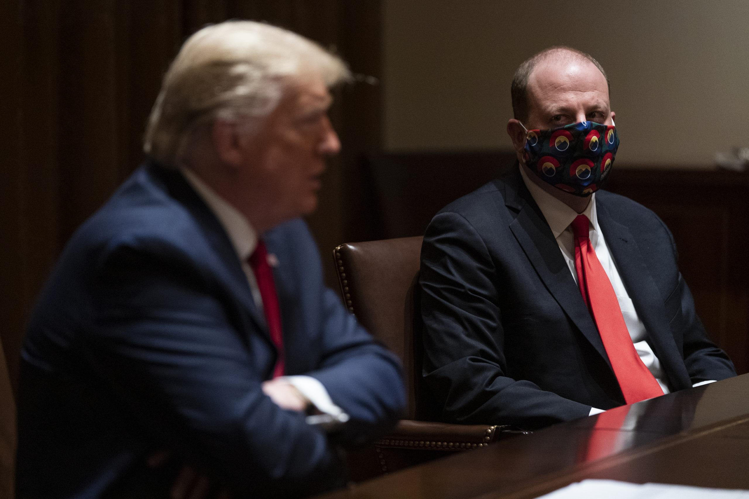 Donald Trump, Jared Polis