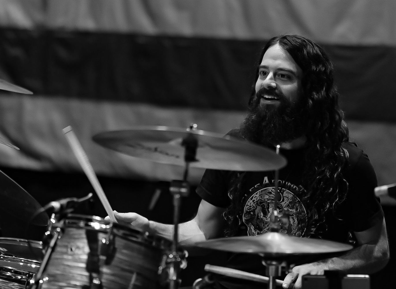 Mark Levy is the drummer for Circles Around The Sun. (Courtesy Scarlet Bucket)