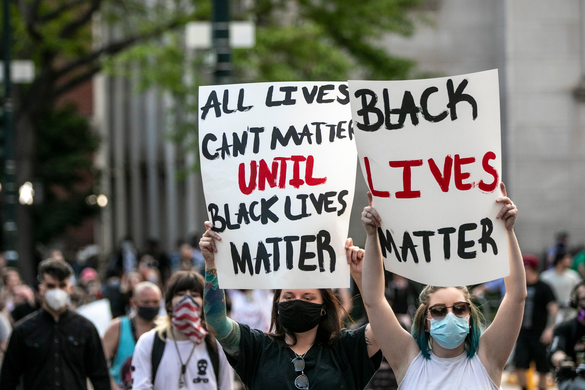 Denver Protests Against Racism Police Brutality May 2020