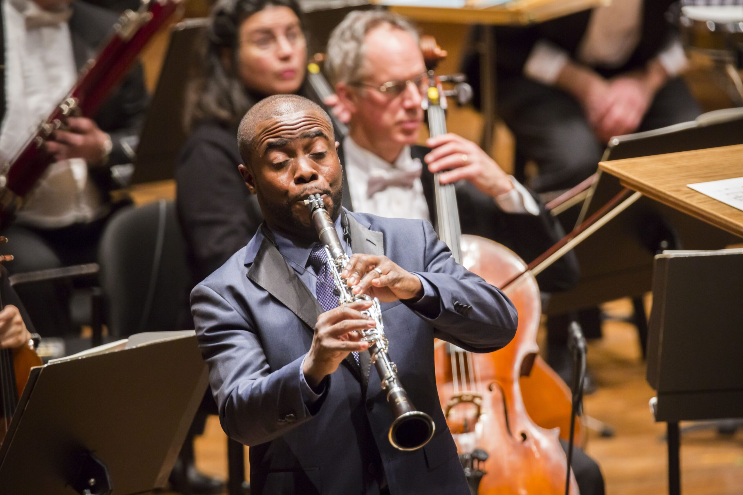 Anthony McGill New York Philharmonic clarinet