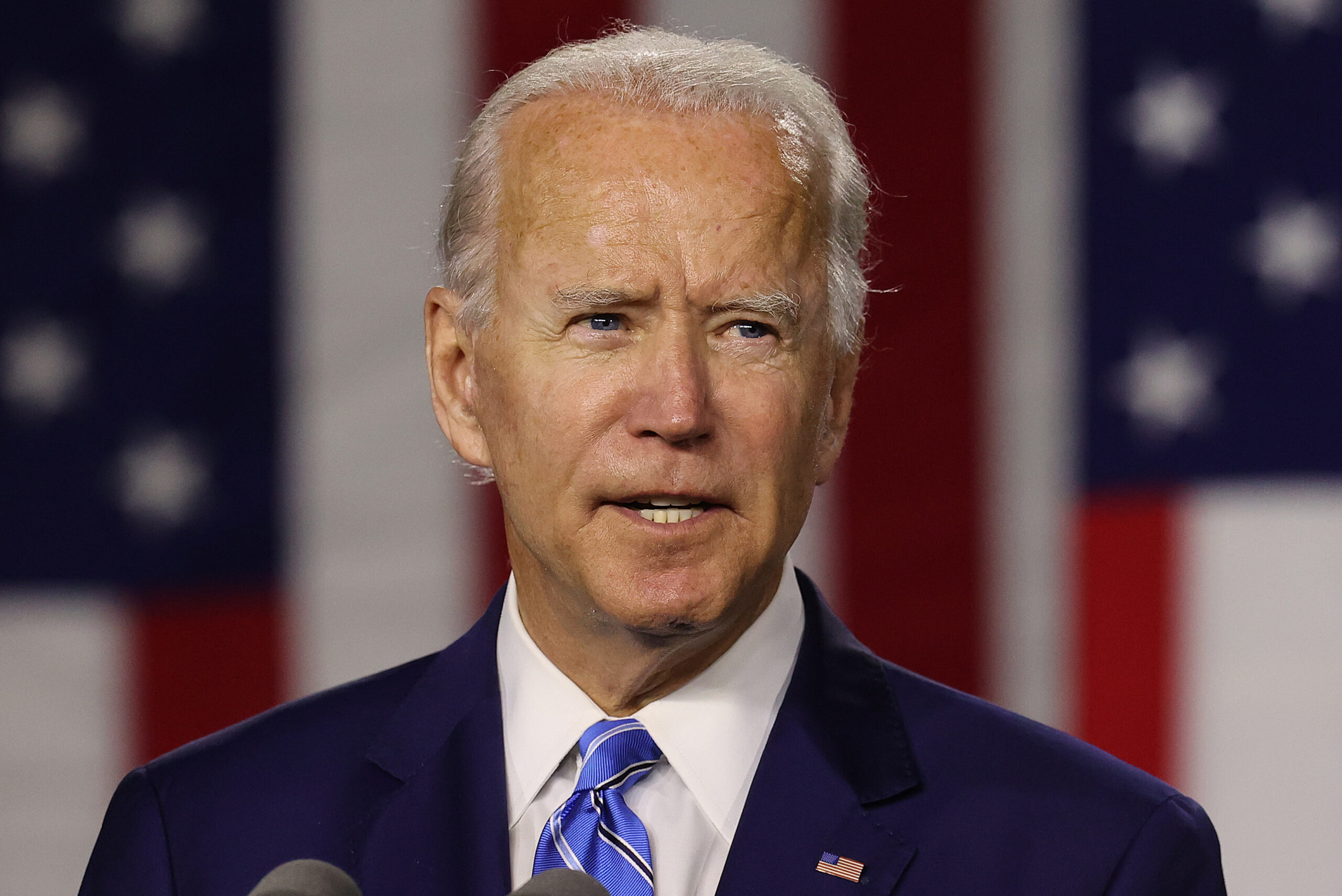 "Democratic Presidential Candidate Joe Biden Speaks On His ""Build Back Better"" Clean Energy Economic Plan"