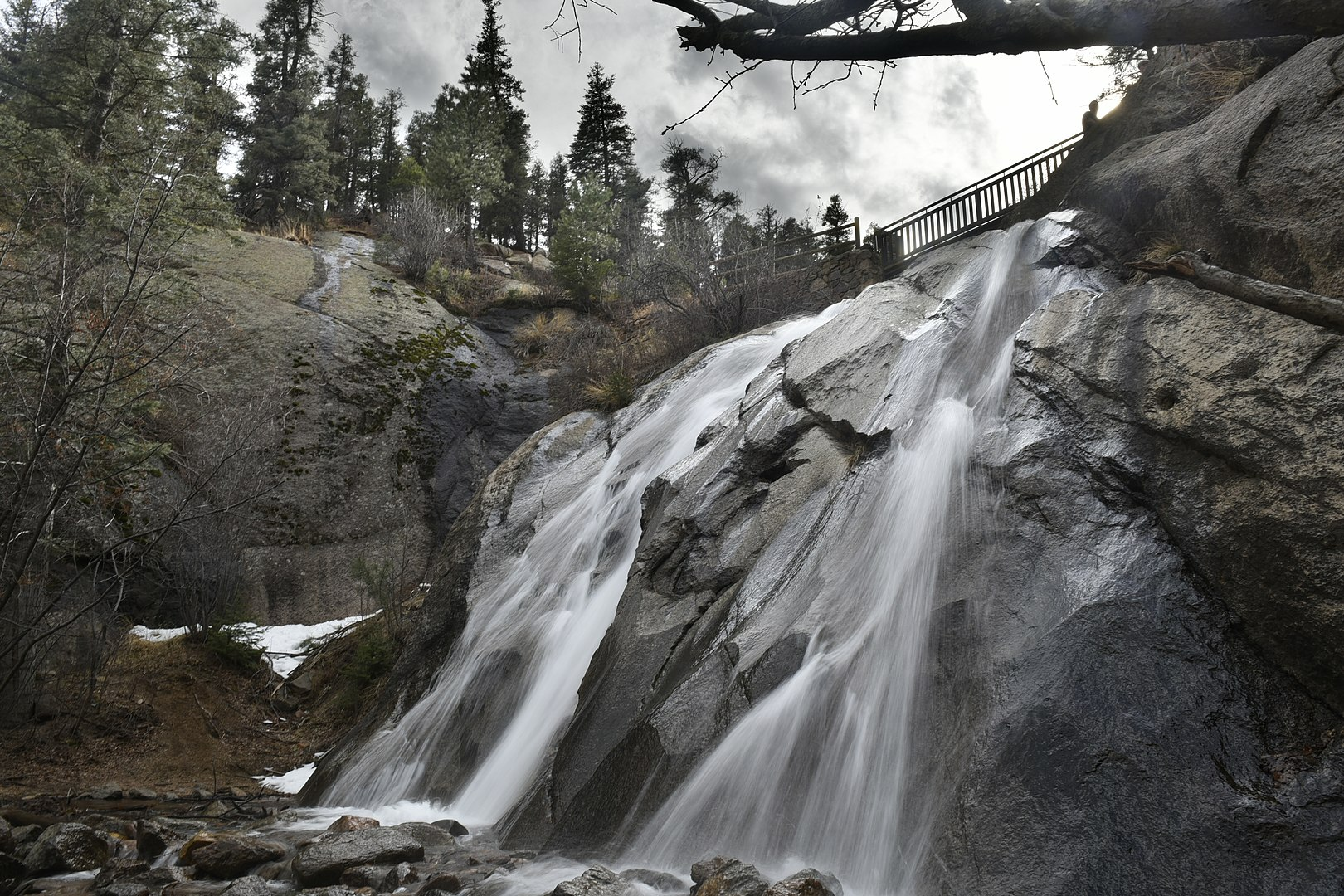 Helen Hunt Falls located in Colorado Springs, Colorado
