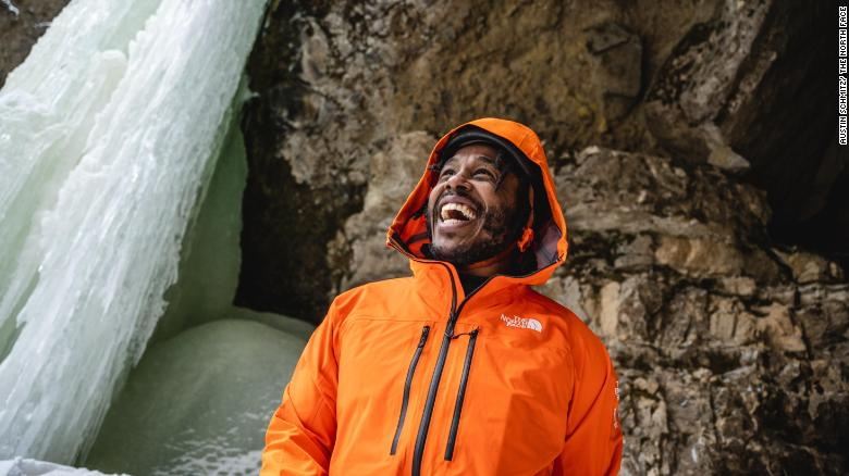 """The film """"Black Ice"""" follows a group of young people from Memphis, Tennessee to Montana to try out ice-climbing."""
