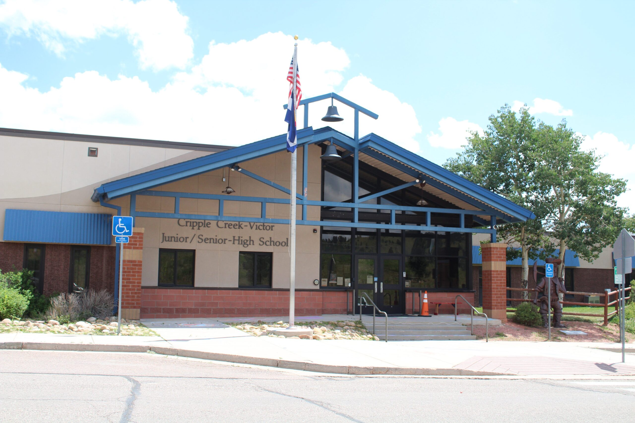 Using money from a RISE Grant, students at Cripple Creek-Victor Junior/Senior High School will have the option to study culinary arts and hospitality, fire science and EMT training, or get on-the-job skills and certifications from a construction trade program.