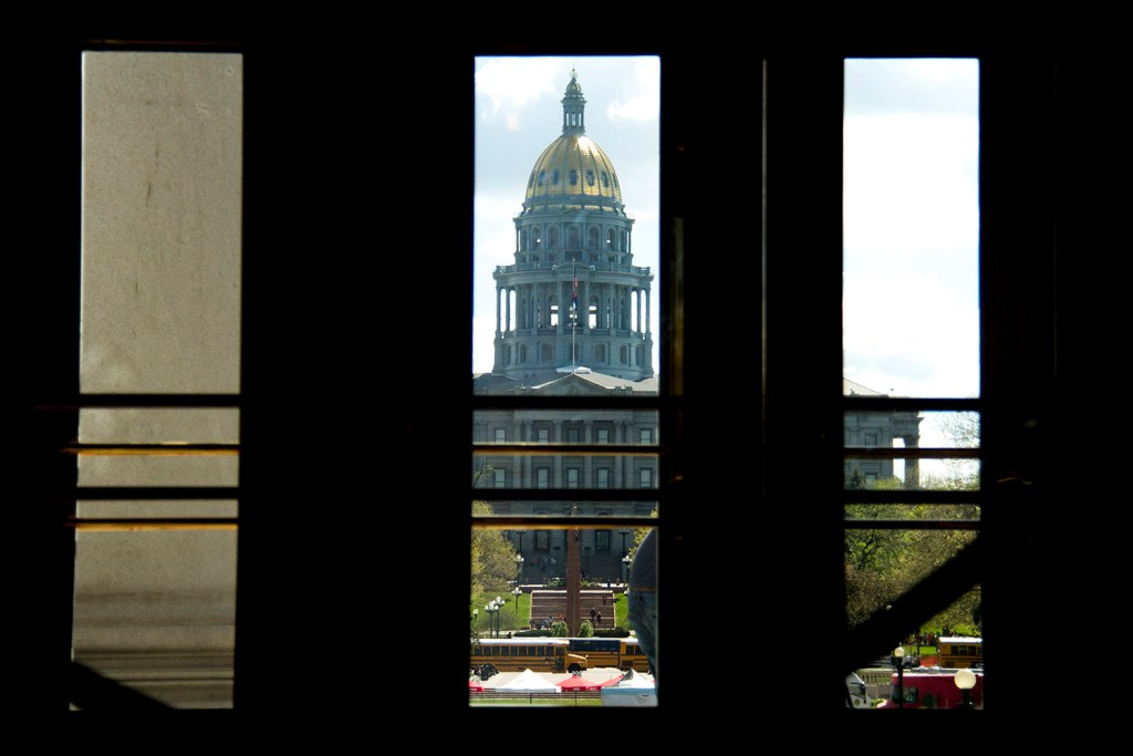 Scenes from the seat of government on the last day of the state legislative session.  denver; denverite; colorado; government; legislation; legislature; capitol; kevinjbeaty; politics; policy; architecture; capitol building; gold dome;