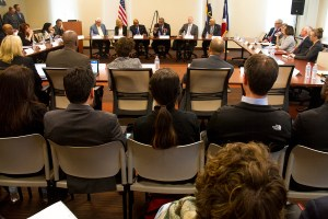 A roundtable discussion with US Transportation Secretary Anthony Foxx.  anthony foxx; michael hancock; cdot; smart cities; development; growth; infrastructure; transportation; highway; i70; i-70; denverite; denver; colorado; kevinjbeaty;