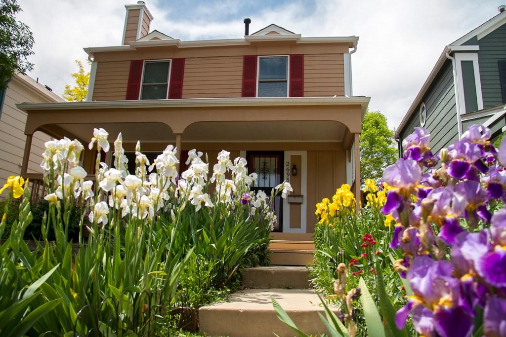 Another home on Angie Bonato's street in the West Highlands. (Kevin J. Beaty/Denverite)  residential; homes; houses; highlands; three bedroom; denver; colorado; denverite;