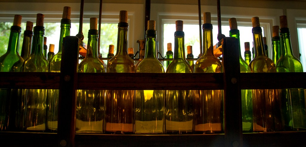 Bottles at Beast and Bottle. (Kevin J. Beaty/Denverite)