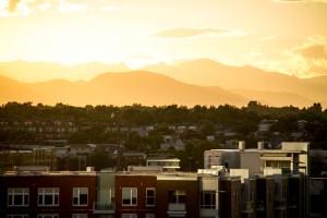 Sunset over the Highlands. (Kevin J. Beaty/Denverite)  highland; sunset; evening; weather; summer; kevinjbeaty; denver; denverite; colorado;