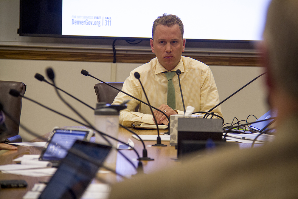 Denver City Council committee meeting, July 13, 2016. (Kevin J. Beaty/Denverite)  city council; politics; government; linkage fees; development; city and county building; kevinjbeaty; denver; colorado; denverite; taxes;