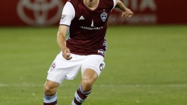 Colorado Rapids Sam Cronin during game against FC Dallas at Dick's Sporting Goods Park, July 23, 2016. Rapids took the lead in the first half, and lost the lead when DC Dallas scored in the second half and the game ended in a tie 1-1. (Jessica Taves/For Denverite)  jessica taves; denverite; colorado rapids; fc dallas; sports; soccer; colorado; denver;