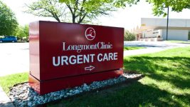 A sign outside of a Longmont urgent care clinic. (You Belong in Longmont/Flickr)