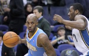 Washington Wizards v/s Denver Nuggets January 25, 2011