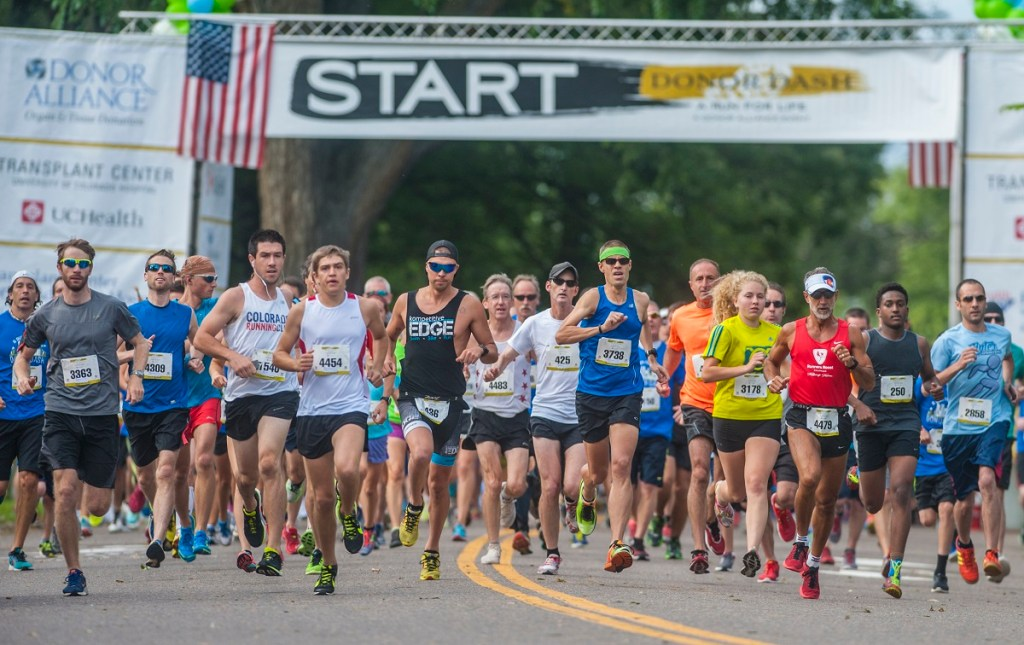 Donor Dash returns for the 17th year this Sunday. (Evan Sem—n/Courtesy of Donor Alliance)